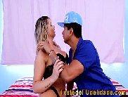 Brasileira fazendo sexo quente com pedreido de obra
