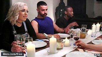 Sexo gay brasileiro com casados transando depois do jantar