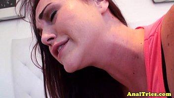 Sexo anal com safada ficando arrombada