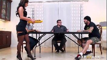 Cena de sexo gostosa tomando bingada na sua vagina